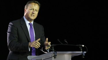 David Cameron is considering taking more refugees from camps along the Syrian border.