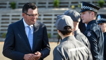 The Andrews government will be funding hundreds of additional police and specialist officers.