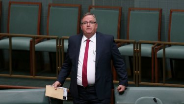 Liberal backbencher Ewen Jones says while he doesn't back the proposal, the minister is entitled to spruik the idea.