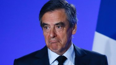"Francois Fillon: ""I will not yield. I will not surrender. I will not withdraw."""