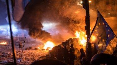 Former Ukrainian president Viktor Yanukovych's refusal to sign the EU-Ukraine deal sparked the Euromaidan protests in Kiev.