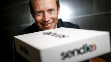 James Chin Moody, founder of Sendle, a delivery company that owns no vans.