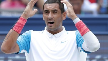 Headline maker: Nick Kyrgios.