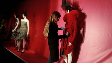 Staying put?: It has been suggested the Powerhouse may keep popular fashion exhibitions such as the current Isabella Blow show in the city.