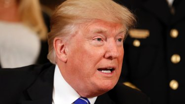 US President Donald Trump acted like a heartless and dull-witted thug in sending out a series of tweets.
