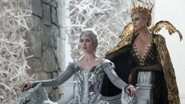 A prequel and a sequel: Emily Blunt and Charlize Theron.
