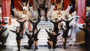 The Springtime For Hitler number in The Prodcuers was written by Brooks and Morris.