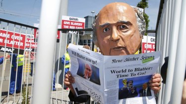 Calls for Sepp Blatter to step down have gathered pace from across the globe.