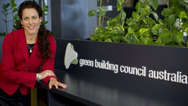 Green Building Council of Australia chief executive Romilly Madew had an early interest in sustainability issues.