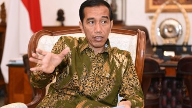 Indonesian President Joko Widodo's reshuffle comes as the country struggles with an economic slowdown.