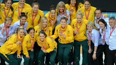The Australian Opals thrashed Turkey to claim World Championship bronze last year.