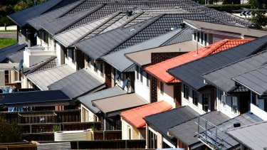 Sales of detached houses fell 5.7 per cent, while apartment sales dropped 10.7 per cent.