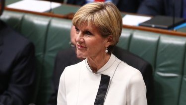 Australian Foreign Minister Julie Bishop says she hasn't been briefed on the Reclaim Australia group.