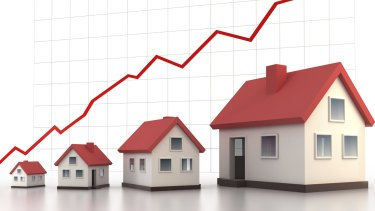 Sydney property prices surged a whopping 12.4 per cent in 2014, according to the CoreLogic RP Data home value index.