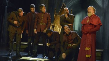 Dazzler: Royal Shakespeare Company's Henry V conveys the moody rage of Shakespeare's most starry monarch.