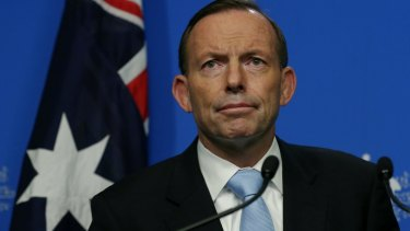 """Tagging: It's not the first time Prime Minister Tony Abbott has dismissed social media as """"electronic graffiti""""."""
