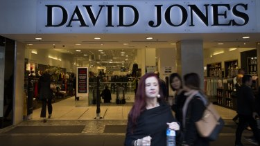 David Jones has posted its strongest sales growth for 15 years under new South African owner, Woolworths.