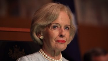 Former Governor-General Quentin Bryce chaired the Queensland domestic and family violence taskforce.