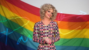 Panti Bliss, aka Rory O'Neill, in the documentary <i>The Queen of Ireland</i>.