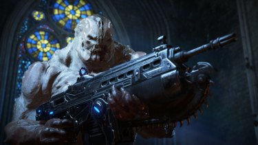 The arrival of the Swarm kicks off the big mystery of <i>Gears 4</i>.