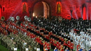 Seven West Media made a $5 million profit from hosting the Royal Edinburgh Military Tattoo in Melbourne in early 2016.