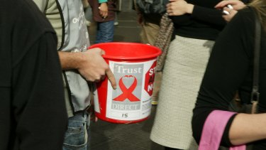 Many people find charity collectors on the street annoying.