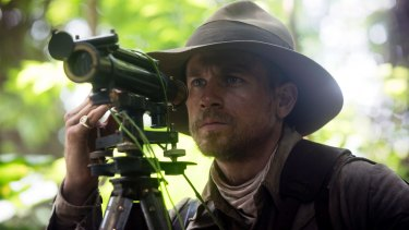 Charlie Hunnam plays the British explorer Percy Fawcett in 'The Lost City of Z'.