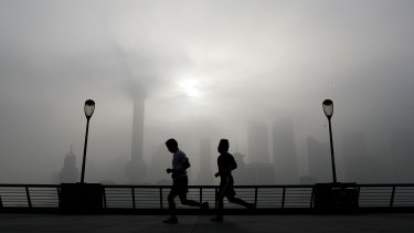 China's poor air quality often dogs major cities, particularly during winter.
