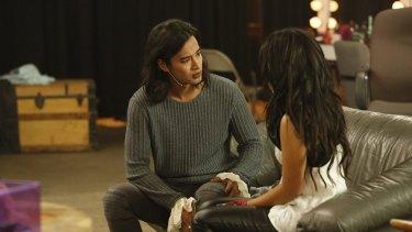 Australian actor Jordan Rodrigues plays Mat Tan in 'The Fosters'
