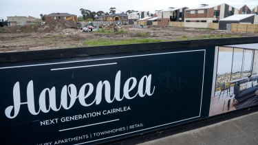 Havenlea is a project by the same developers in Cairnlea. They dumped waste and asbestos from the Carlton pub at the Cairnlea site.