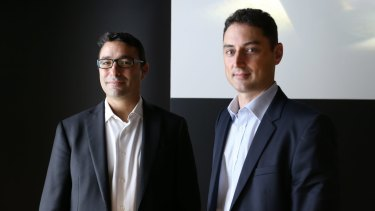 Steven Sher, chairman, and Gavin Solsky, executive director, of Global Credit Investment.