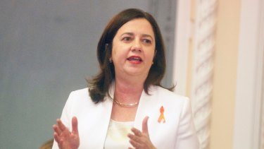 "Premier Annastacia Palaszczuk: ""We recognise the hurt and shame that have been felt by friends and family members and to them we are sorry."""
