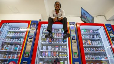 Hari Shotham is excited about his staff-free store plan.