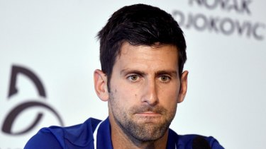 Novak Djokovic is alleged to have made an impassioned plea to fellow players to join him in a demand for better pay.  .