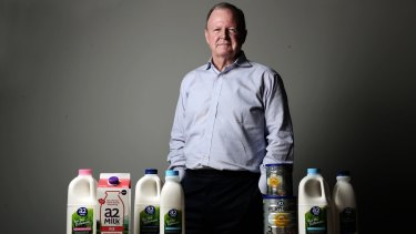 """A2 Milk chief executive Geoff  Babidge: """"The opportunity in a variety of segments in adult nutrition could potentially be bigger than infant formula."""""""