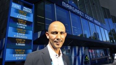 Samir Mahir, CIO of Tennis Australia, wants technology to help drive tennis participation rates all year around.