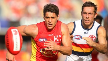 Sidelined: Dion Prestia of the Suns.