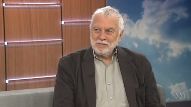 No regrets: Nolan Bushnell appears on ABC television.