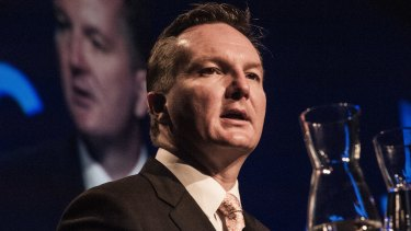 """Shadow Treasurer Chris Bowen said the the government """"has absolutely no idea"""" what the economic benefits are.   constituents who are predominantly single-income families."""