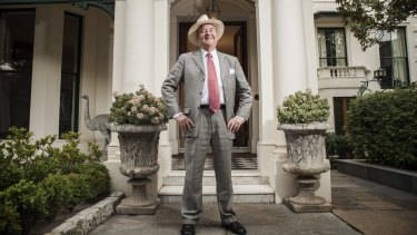 Gary Morgan was evicted from his Collins Street offices over the weekend.