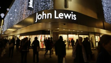 John Lewis's department store on Oxford Street in London.