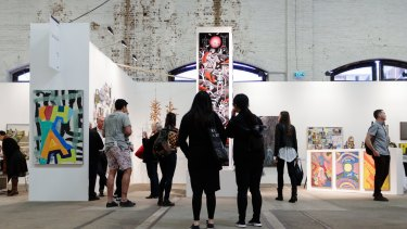 The Sydney Contemporary Art Fair saw 26,500 visitors and $16 million in sales.