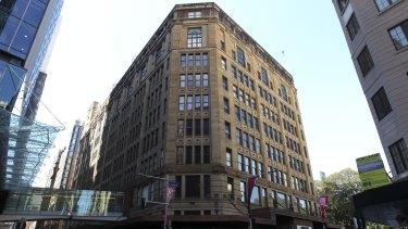 David Jones's Elizabeth Street store in Sydney will undergo a $200m revamp.