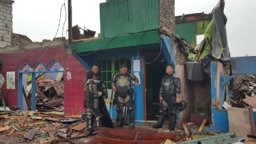Five thousand security personnel have been deployed to secure eviction of Kalijodo residents.
