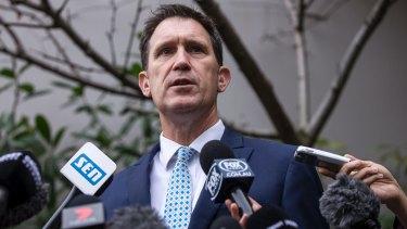 Done deal: Cricket Australia chief James Sutherland.