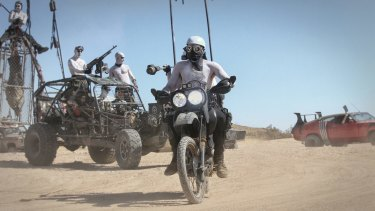 A desert festival devoted to post-apocalypse ... the Wasteland Festival.