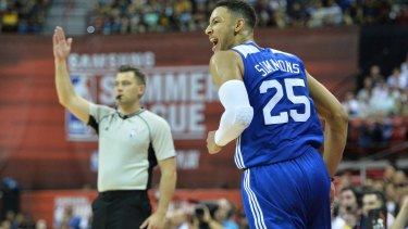 Starting out: Ben Simmons.