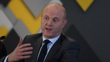 """Commonwealth Bank CEO Ian Narev. AUSTRAC said it had """"quite a lot of engagement"""" with the bank."""