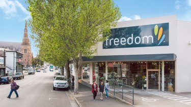 A private investor paid $5.35 million for Hobart's only Freedom Furniture store.