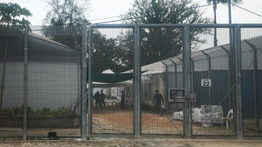 The detention centre on Manus Island.